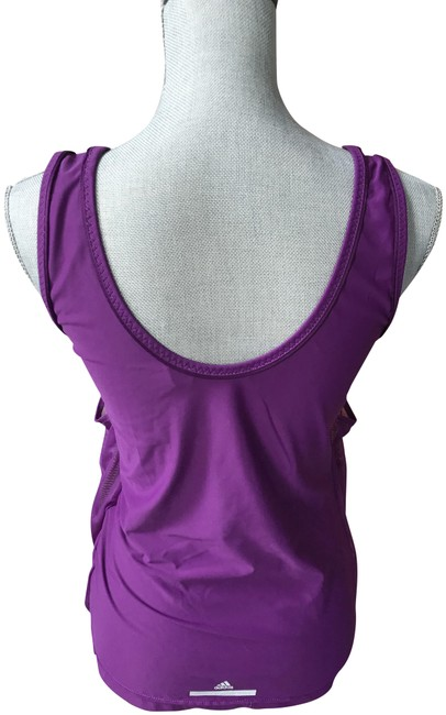 adidas By Stella McCartney Purple Mesh Loose Fitting Activewear Top Size 8 (M, 29, 30) adidas By Stella McCartney Purple Mesh Loose Fitting Activewear Top Size 8 (M, 29, 30) Image 1