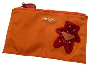 Prada Orange Travel Bag