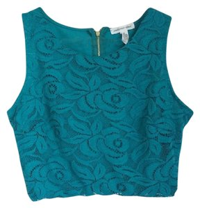 Ambiance Apparel Top Turquoise