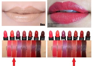 NYX Cosmetics NYX REA, FIRE, SUNFLOWER & APOLLO Extra Creamy Round Lipsticks