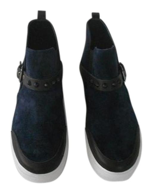 Item - Blue Marine Stud Accented Slip On Suede Sneakers Size EU 39 (Approx. US 9) Regular (M, B)