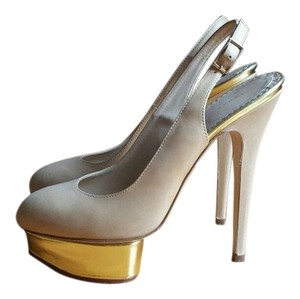 Charlotte Olympia NUDE Pumps