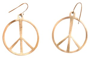 Claire's Peace Sign Earrings