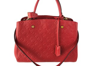 Louis Vuitton Empreinte Montaigne Shoulder Bag