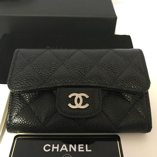 0d286b396f3b1d Chanel Black Classic Caviar Leather Card Holder Wallet from @sammifeng on  Tradesy