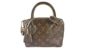 Louis Vuitton Monogram Lockit Bb Tote in Brown