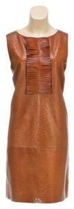 Fendi short dress Tan on Tradesy