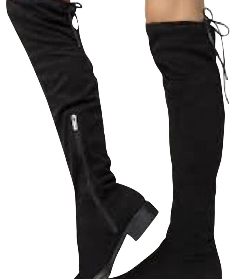 4578c29c97d94a Circus by Sam Edelman Black Peyton Boots Booties Size US 9 Regular ...