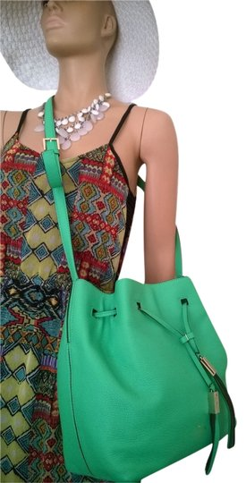 Preload https://item1.tradesy.com/images/kate-spade-nwt-kate-spade-ny-bud-green-cooper-grey-street-drawstring-bucket-bag-wkru3057-leather-sho-2228840-0-1.jpg?width=440&height=440