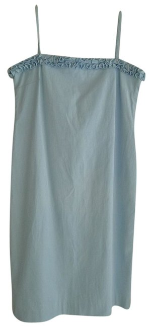 Ralph Lauren short dress Blue Baby Twill Sundress Sun on Tradesy