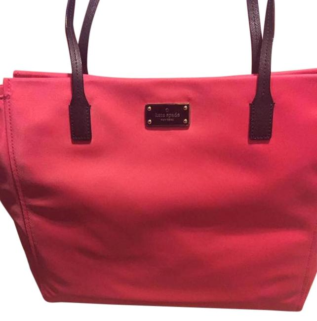 Item - Hot Pink Nylon Tote