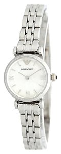 Emporio Armani Emporio Armani Silver Mother of Pearl Classic Watch AR1763