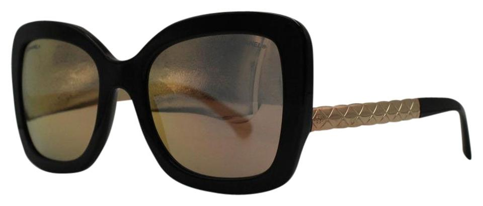 e23fff9cb7c42 Chanel 5278 501 S6 Butterfly Spring Acetate Sunglasses - Tradesy Chanel  Black Gold And Butterfly Spring 5370 C.1581 4z 54 Sunglasses -