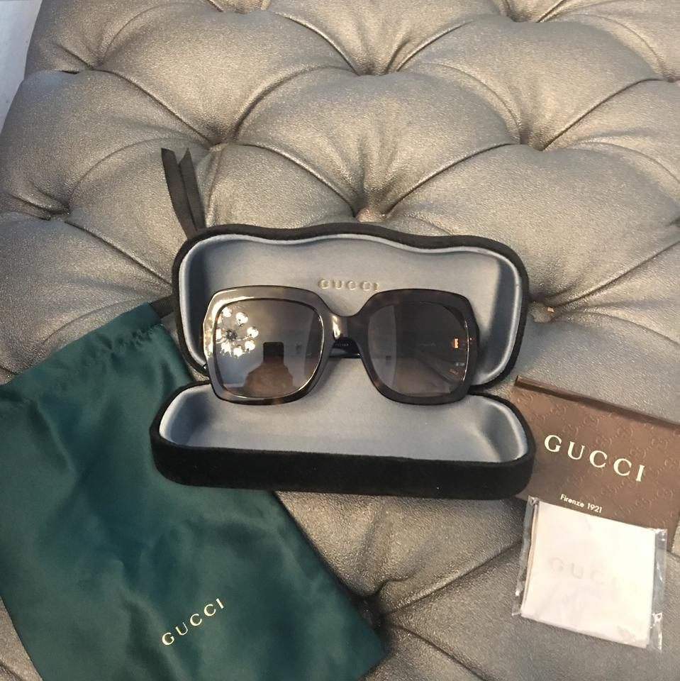 765b1d24b96 Gucci Turtle Blue Red Gg0036s 54 Sunglasses - Tradesy