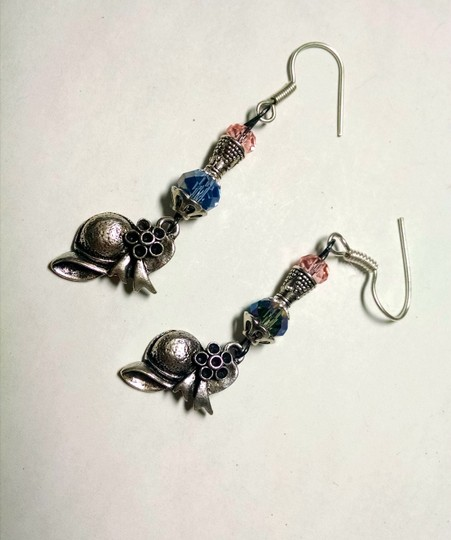 Other New Earrings Bonnet Charms Crystals J786 Summersale