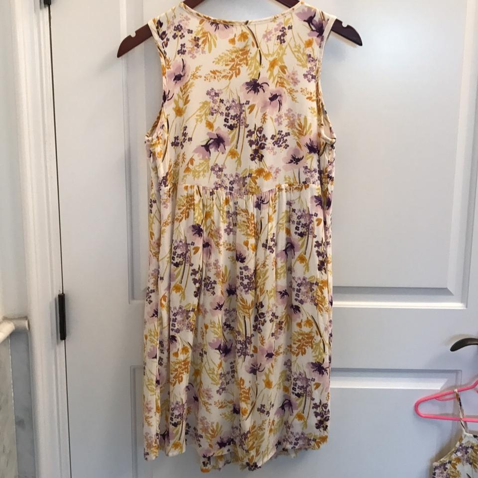 Old navy purple yellow pink cream 3 matching floral short casual 123456789101112 mightylinksfo