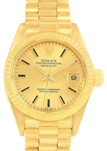 Rolex Rolex Oyster Perpetual NonDate 14K Yellow Gold Ladies Watch 6917