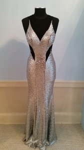 Faviana Sequin Sparkle Mesh Prom Gala Dress