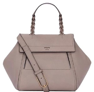 Tory Burch Satchel in French gray