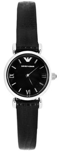 Emporio Armani Emporio Armani Mother of Pearl Black Retro Watch AR1759