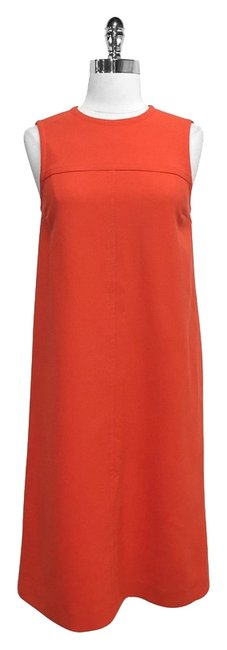 Preload https://img-static.tradesy.com/item/2229202/michael-kors-red-wool-sleeveless-shift-mid-length-short-casual-dress-size-6-s-0-0-650-650.jpg