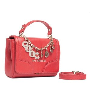 Moschino Satchel in red