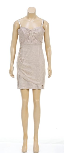 Elizabeth & James short dress Beige on Tradesy