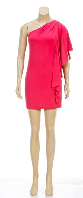 Essentials by ABS short dress Pink on Tradesy
