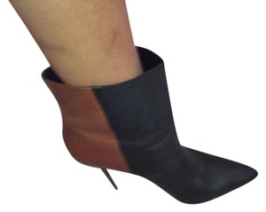 Brian Atwood black and brown Boots
