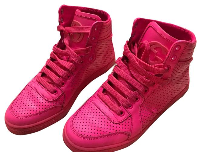 Gucci Pink Sneakers Size US 5 Regular (M, B) Gucci Pink Sneakers Size US 5 Regular (M, B) Image 1
