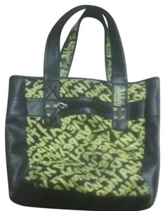 Abbey Dawn by Avril Lavigne Tote in Black n yellow