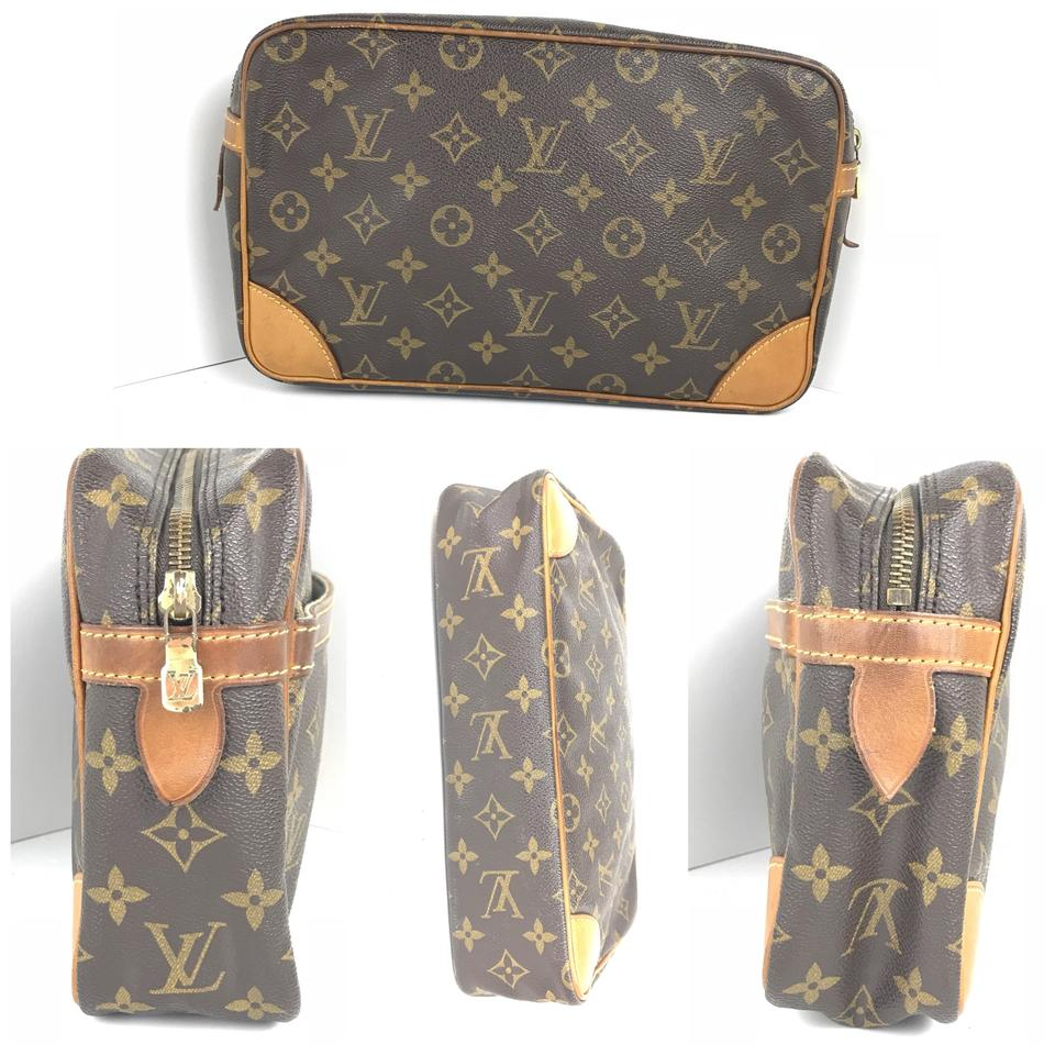louis vuitton compiegne 28 cosmetic bag tradesy. Black Bedroom Furniture Sets. Home Design Ideas