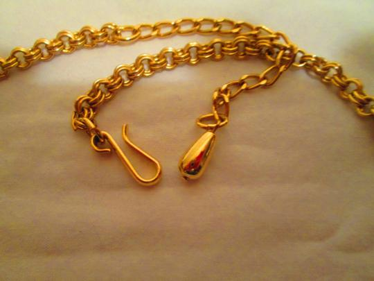 Park Lane Goldtone Necklace w/Earrings and Faux Turquiose Stones