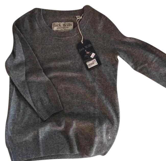 Item - Cashemere Crew In Marl Gray Sweater