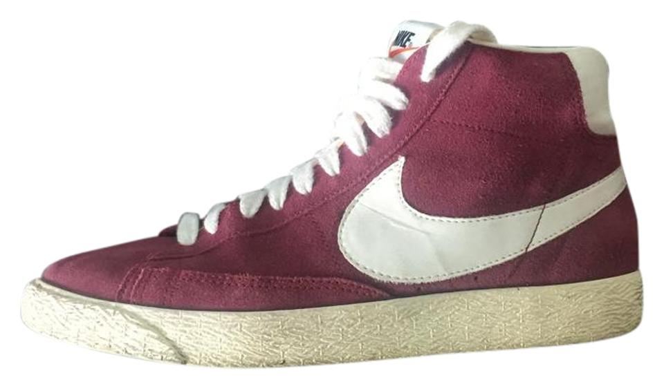 official photos 27dc2 57e04 Nike Maroon Blazer Mid Vintage High Top Suede Sneakers Size US 7 Regular  (M, B) 59% off retail