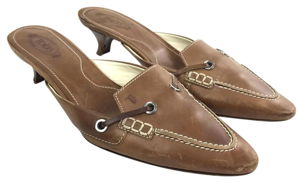 WOMENS and Tod's Brown Mules/Slides Stylish and WOMENS funny 0eacc1