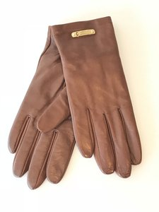 Burberry Burberry Leather Touch Jenny Lined Gloves