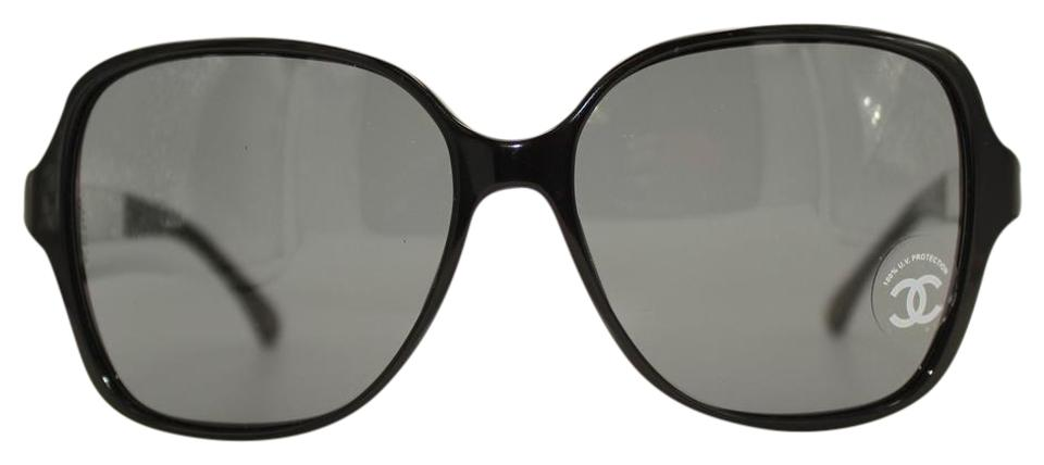 Chanel collection miroir black square sunglasses 5168 59 for Collection miroir chanel