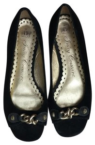 Juicy Couture black/gold Flats