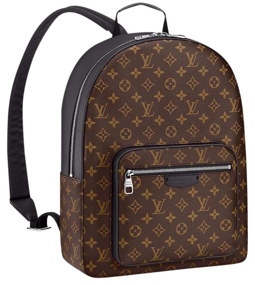 louis vuitton macassar josh backpack on tradesy. Black Bedroom Furniture Sets. Home Design Ideas