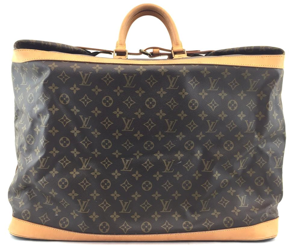 louis vuitton 14810 cruiser 55 duffle travel weekender monogram travel bag on sale 77 off. Black Bedroom Furniture Sets. Home Design Ideas
