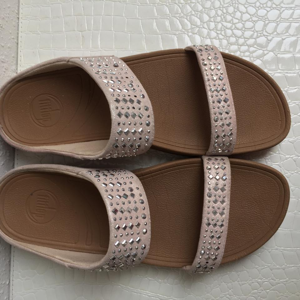 FitFlop Nude Sandals Size US 10 Regular (M, B) - Tradesy