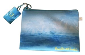 Bumble and bumble Blue Clutch