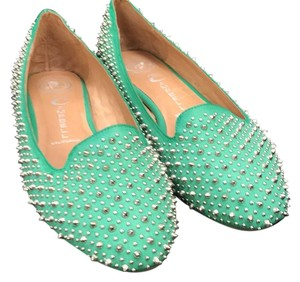 Jeffrey Campbell green Flats