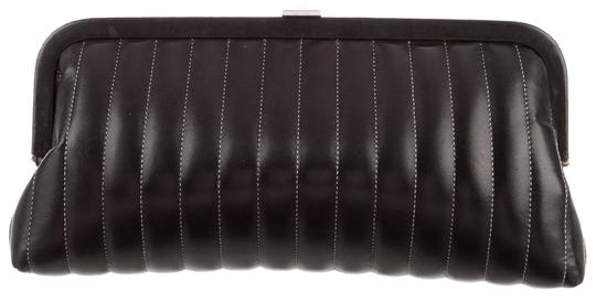 374391cb7ff620 Chanel Mademoiselle Ligne Timeless Kisslock Vertical Quilt Classic Flap Black  Clutch Image 0 ...