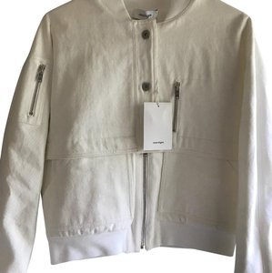 Courreges White Womens Jean Jacket