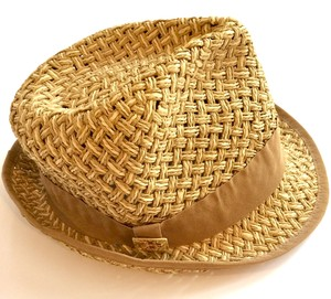 Tory Burch Tory Burch Straw and Grosgrain Fedora