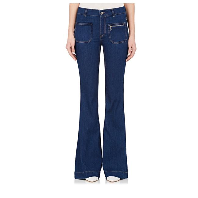 Item - Navy W New W/ Tag 2016 Fall Flare Leg Jeans Size 27 (4, S)