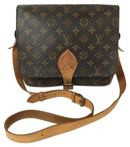 Louis Vuitton Cartouchiere Cartouchiere Gm Monogram Cross Body Bag