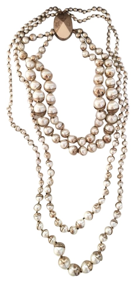 chloe retro multi signature product isabel glam strand torsade necklace products